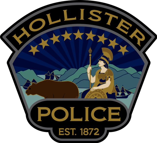 Hollister Police Patch