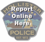 Hollister Police Online Reporting