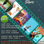 2018 Movie under the stars flyer