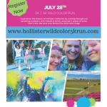 Copy of WildColor 5K Run Event Flyer